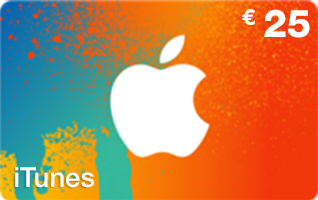 carte de recharge itunes 25 euros