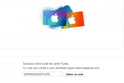 code recharge itunes